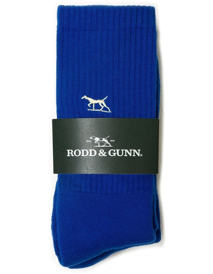 Gunner Three Pack Sock - Cobalt image 3