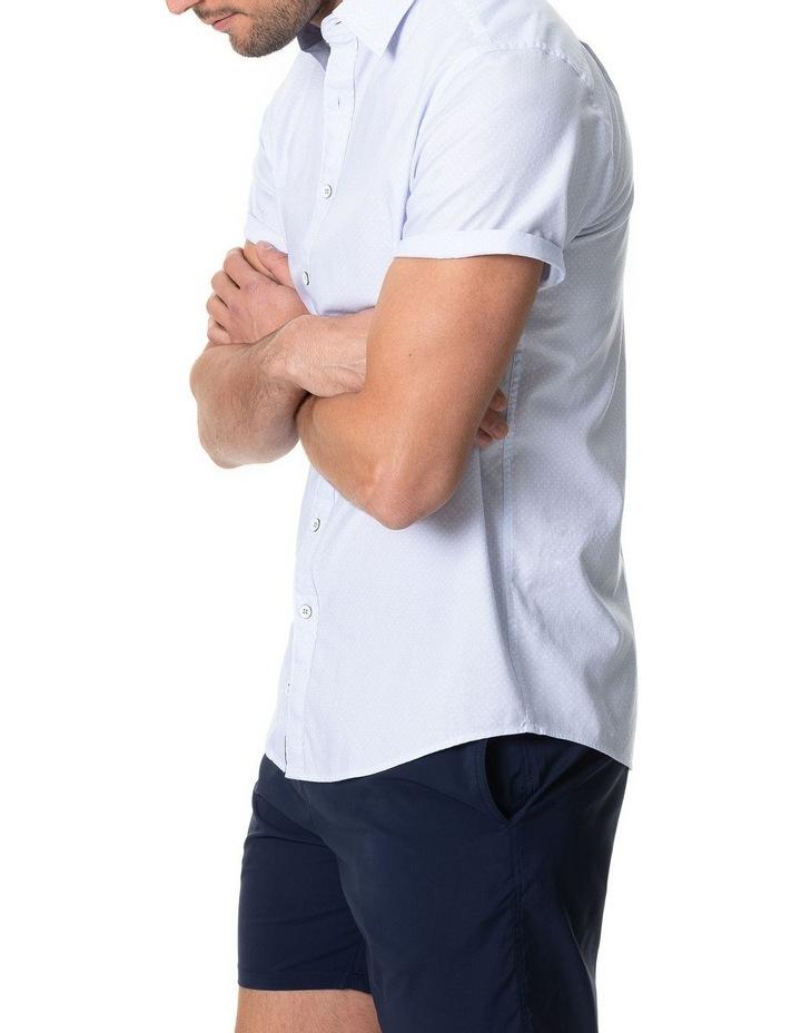 Hurford Short Sleeve Sports Fit Shirt - Sky image 2