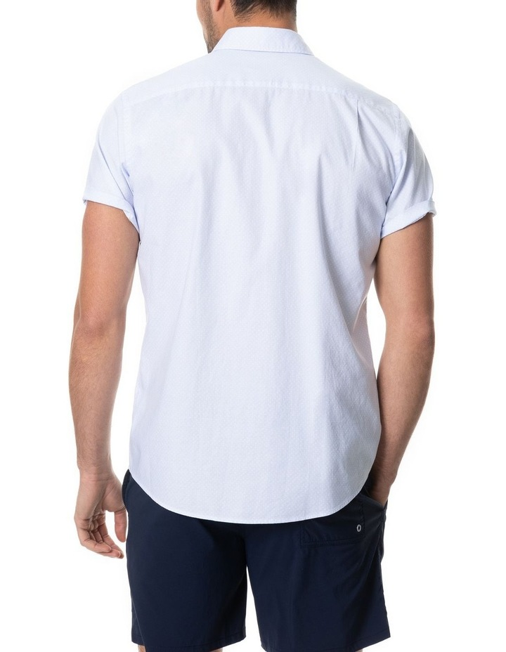 Hurford Short Sleeve Sports Fit Shirt - Sky image 3