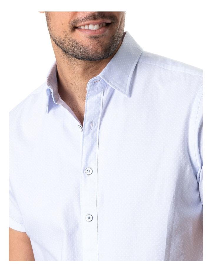 Hurford Short Sleeve Sports Fit Shirt - Sky image 4