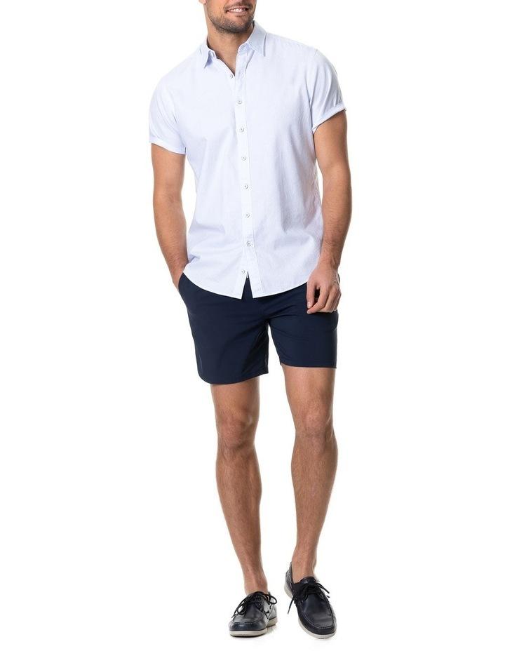 Hurford Short Sleeve Sports Fit Shirt - Sky image 5