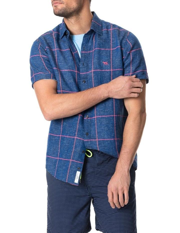 Tucker Road Short Sleeve Shirt - Denim image 1