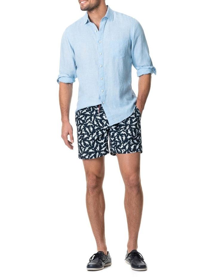 Coromandel Long Sleeve Sports Fit Shirt - Aquamarine image 5