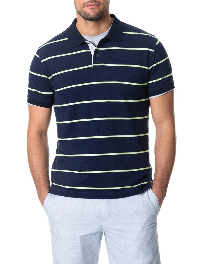 Teal River Sports Fit Polo - Denim image 1