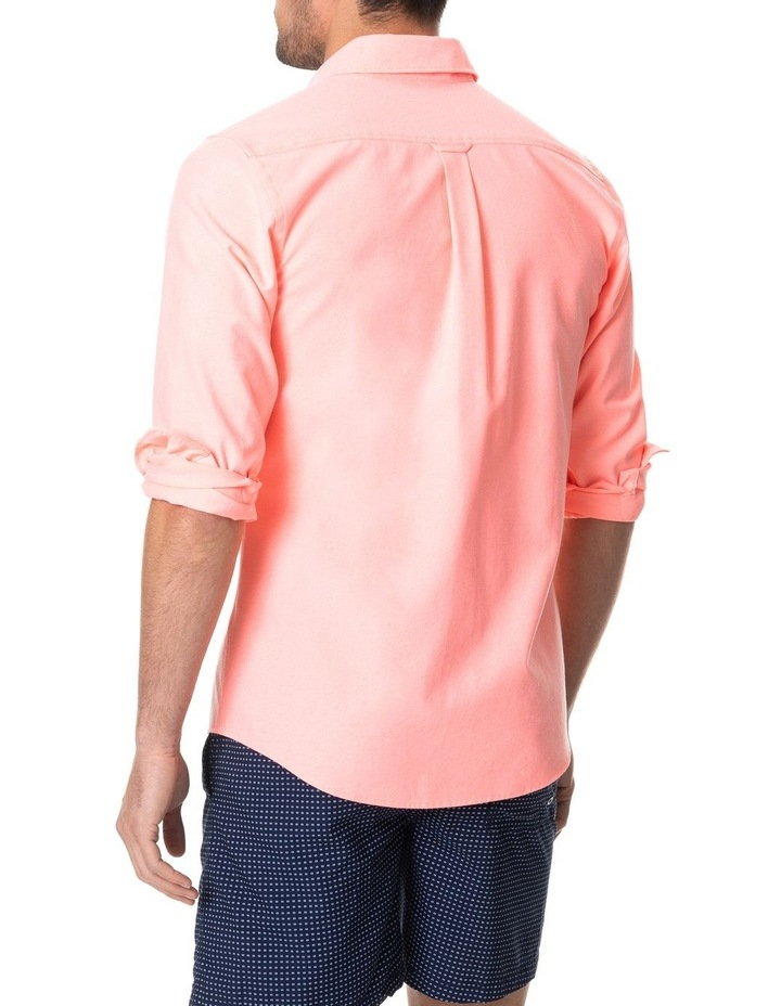 Ostend Long Sleeve Sports Fit Shirt - Sorbet image 3