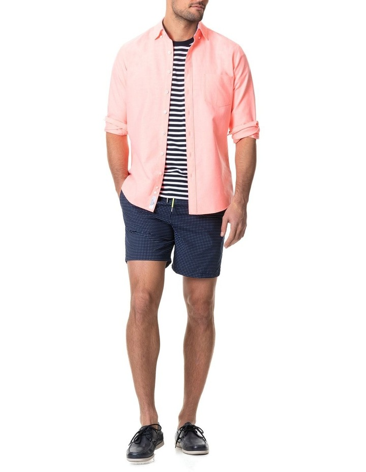 Ostend Long Sleeve Sports Fit Shirt - Sorbet image 5