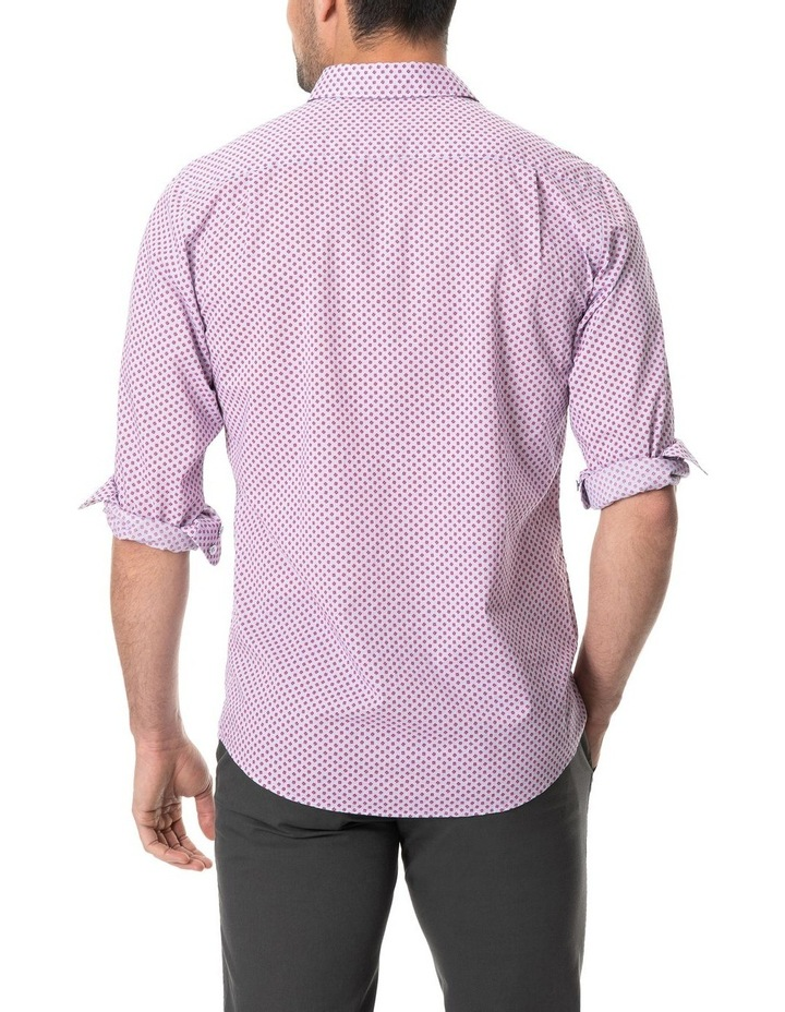 Green Bay Long Sleeve Sports Fit Shirt - Cornflower image 3
