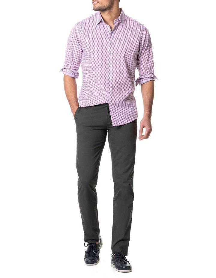 Green Bay Long Sleeve Sports Fit Shirt - Cornflower image 5