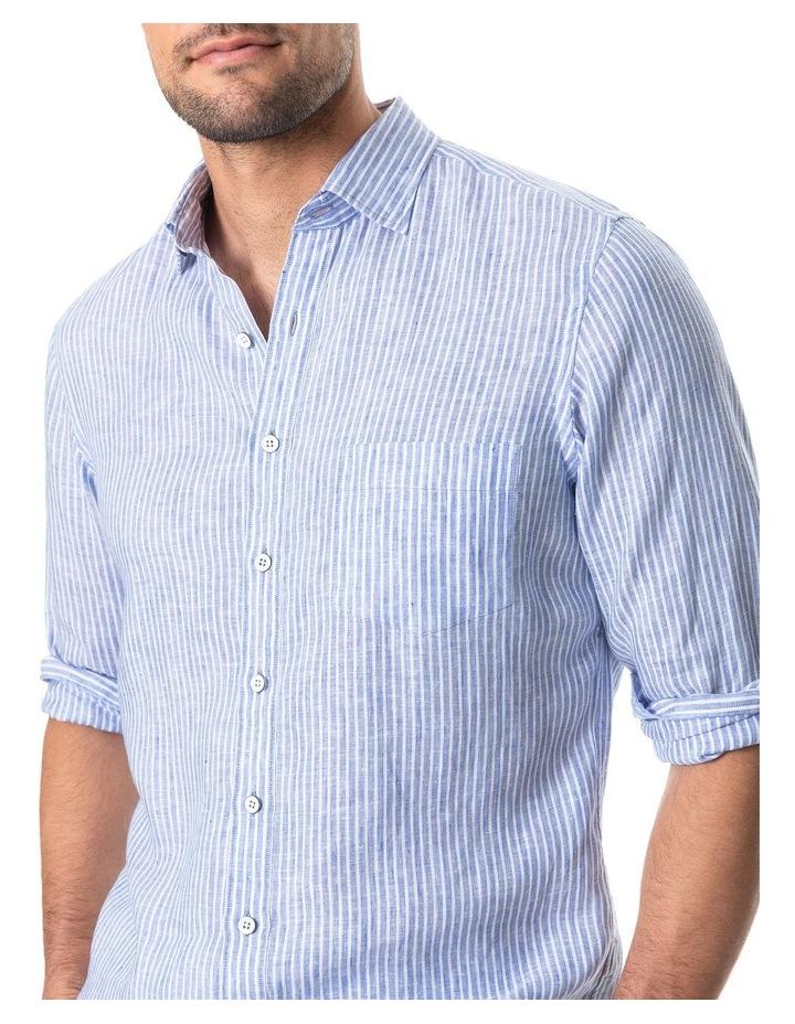 Bay Of Plenty Long Sleeve Sports Fit Shirt - Malibu image 4