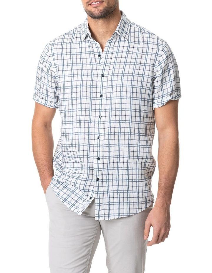 Little Valley Short Sleeve Shirt - Ivory image 1