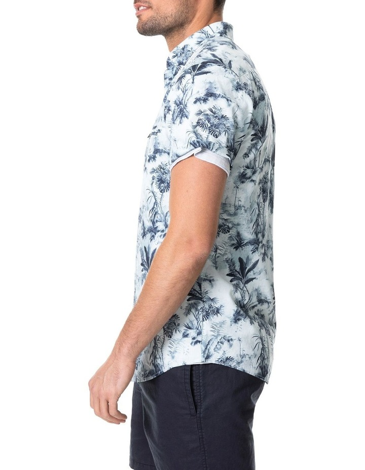 Mill Road Short Sleeve Sports Fit Shirt - Ivory image 2