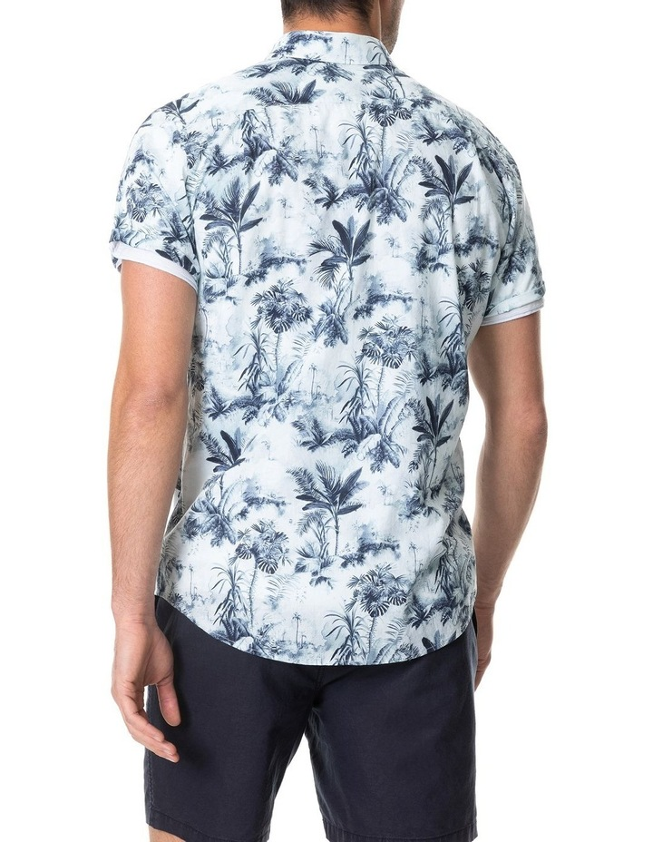 Mill Road Short Sleeve Sports Fit Shirt - Ivory image 3
