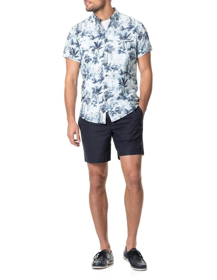 Mill Road Short Sleeve Sports Fit Shirt - Ivory image 5