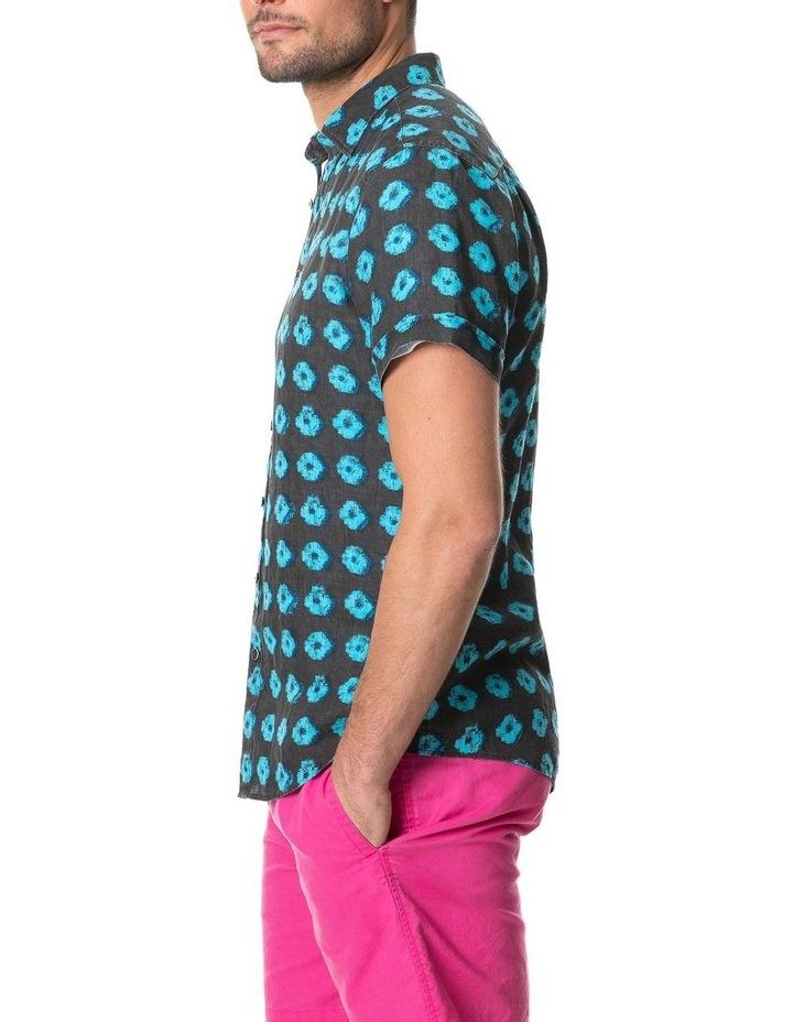 Peninsula Short Sleeve Sports Fit Shirt - Sepia image 2