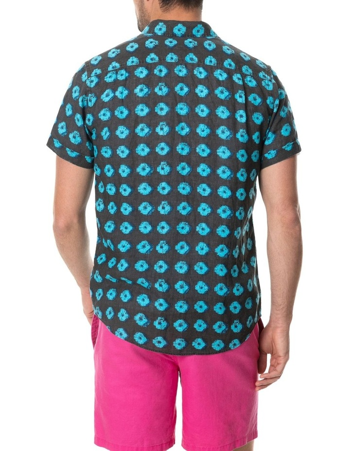 Peninsula Short Sleeve Sports Fit Shirt - Sepia image 3