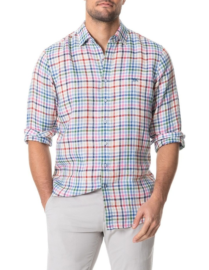 Logantown Long Sleeve Shirt - Ivory image 1