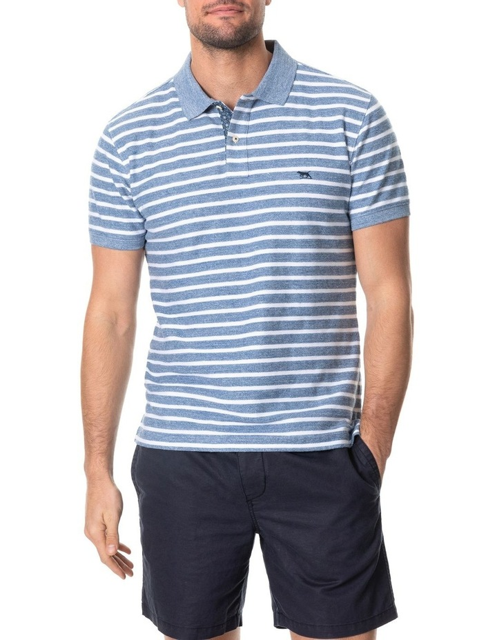 Huntly West Sports Fit Polo - Marble image 1