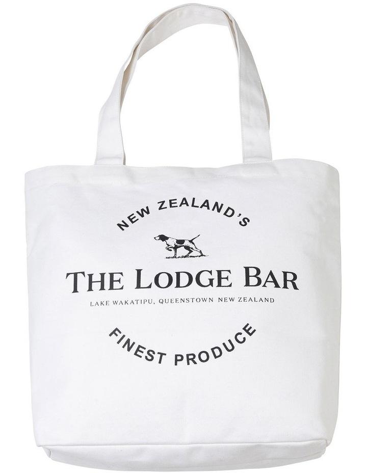 The Lodge Bar Tote Bag - Natural image 1
