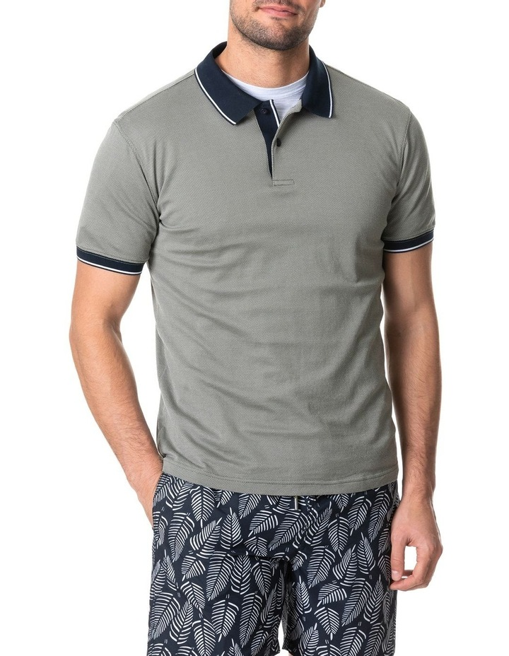 Leigh Sports Fit Polo - Taupe image 1