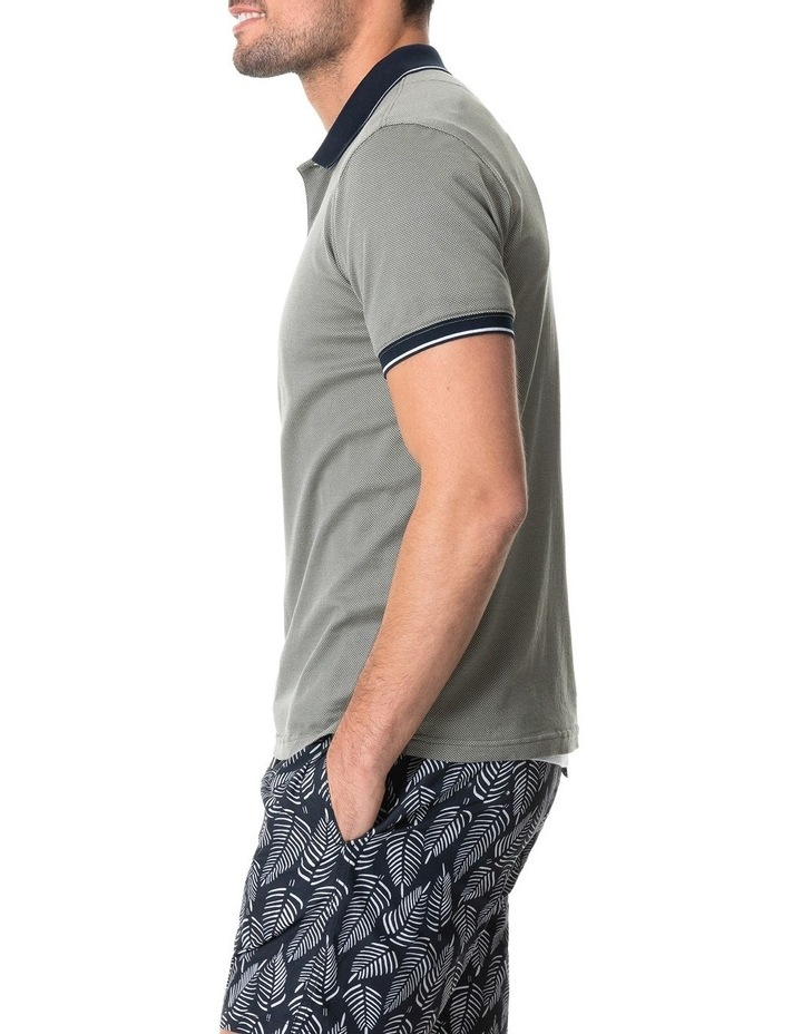 Leigh Sports Fit Polo - Taupe image 2