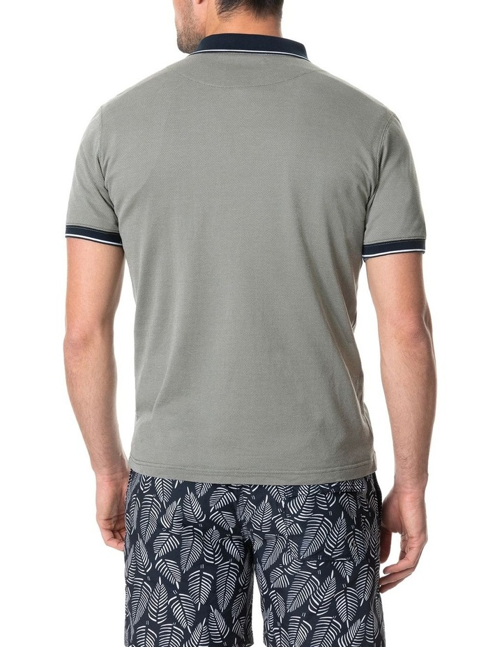 Leigh Sports Fit Polo - Taupe image 3