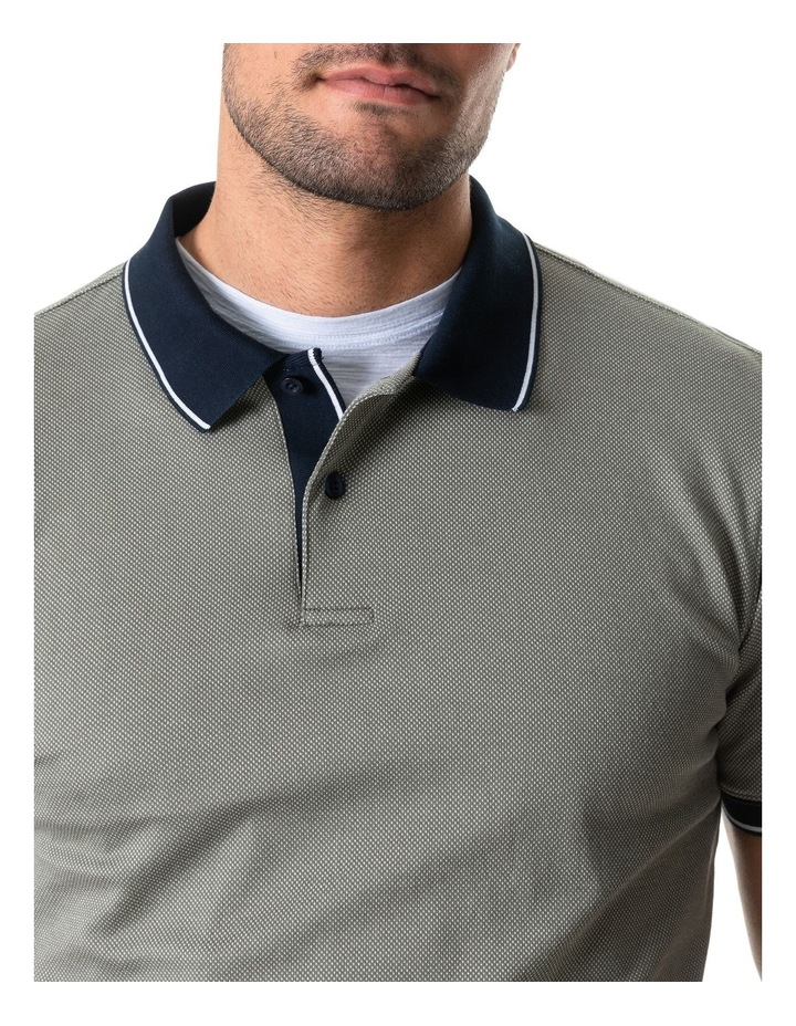 Leigh Sports Fit Polo - Taupe image 4