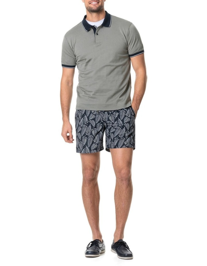 Leigh Sports Fit Polo - Taupe image 5