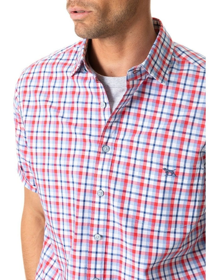 Brittania Short Sleeve Shirt - Bluejay image 4