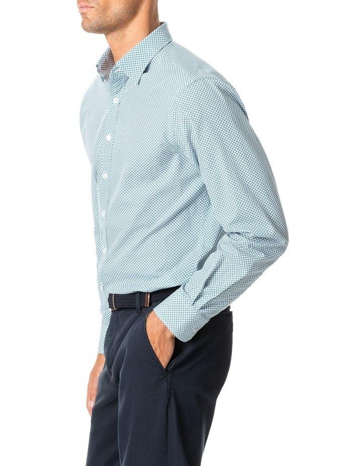 Gravesend Long Sleeve Sports Fit Shirt - Snow image 2