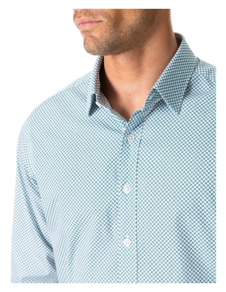 Gravesend Long Sleeve Sports Fit Shirt - Snow image 3