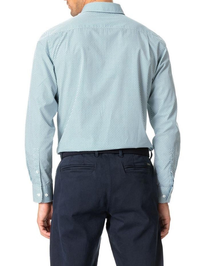 Gravesend Long Sleeve Sports Fit Shirt - Snow image 5