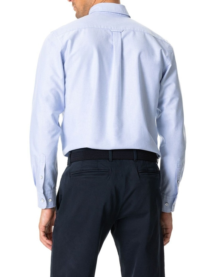 North Island Oxford Long Sleeve Sports Fit Shirt image 4