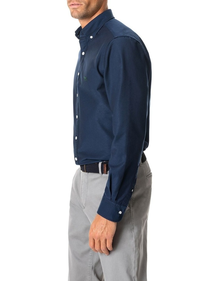North Island Oxford Long Sleeve Sports Fit Shirt image 2