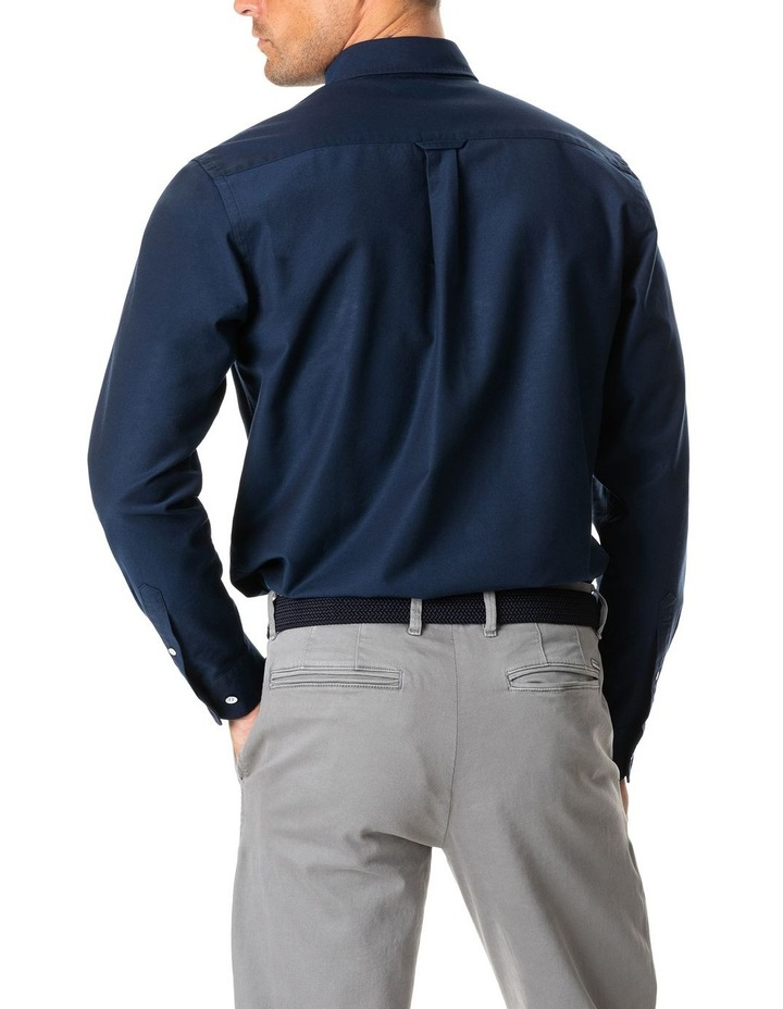 North Island Oxford Long Sleeve Sports Fit Shirt image 5