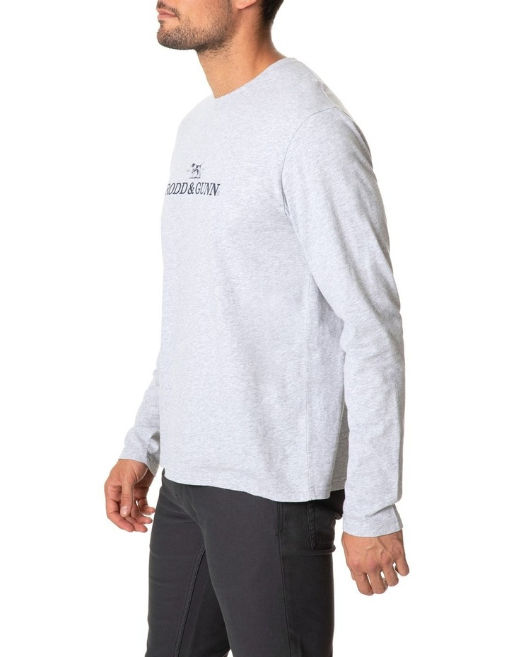 Long Sleeve Logo T-Shirt - Ash image 2