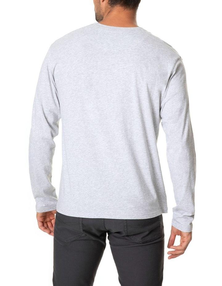 Long Sleeve Logo T-Shirt - Ash image 3