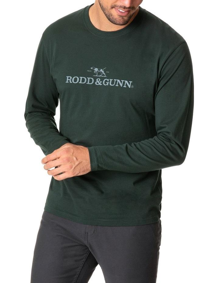Long Sleeve Logo T-Shirt - Forest image 1