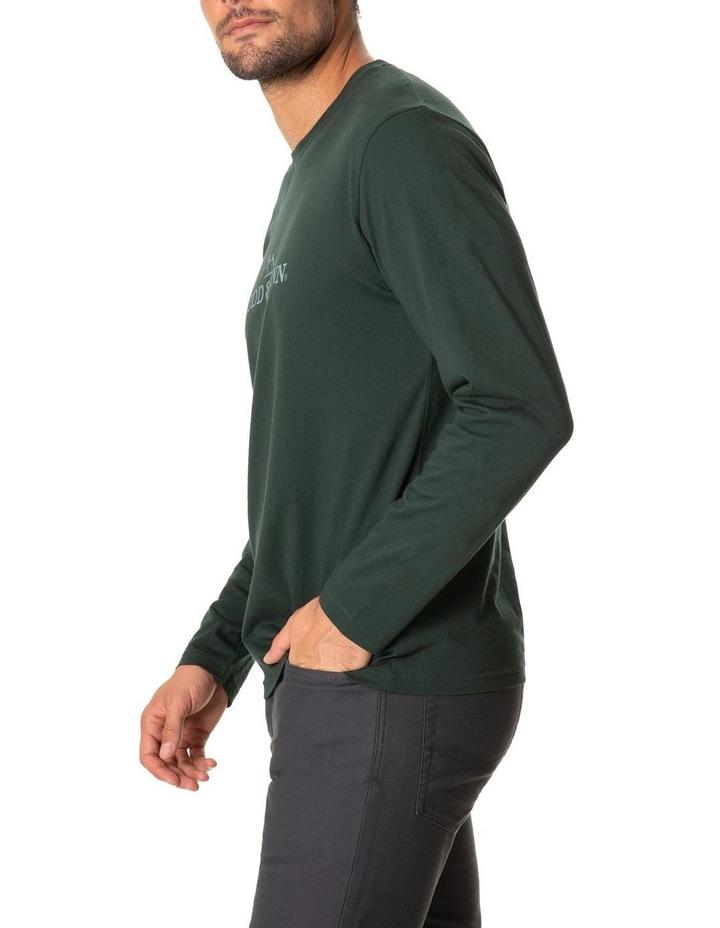 Long Sleeve Logo T-Shirt - Forest image 2