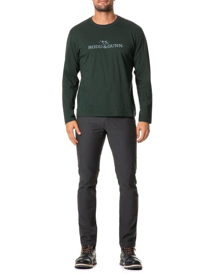 Long Sleeve Logo T-Shirt - Forest image 5