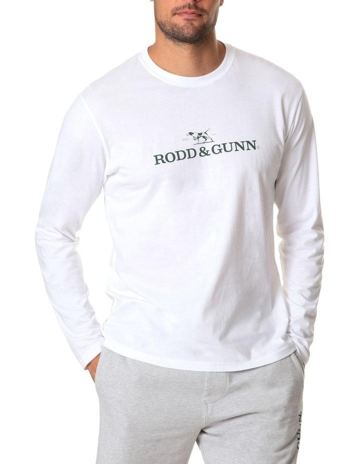 Long Sleeve Logo T-Shirt - Snow image 1