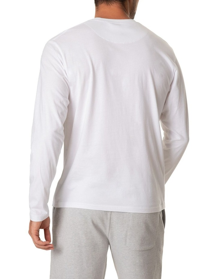 Long Sleeve Logo T-Shirt - Snow image 3