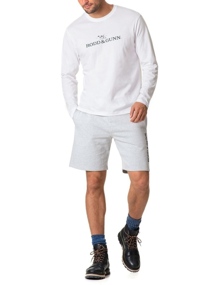Long Sleeve Logo T-Shirt - Snow image 5