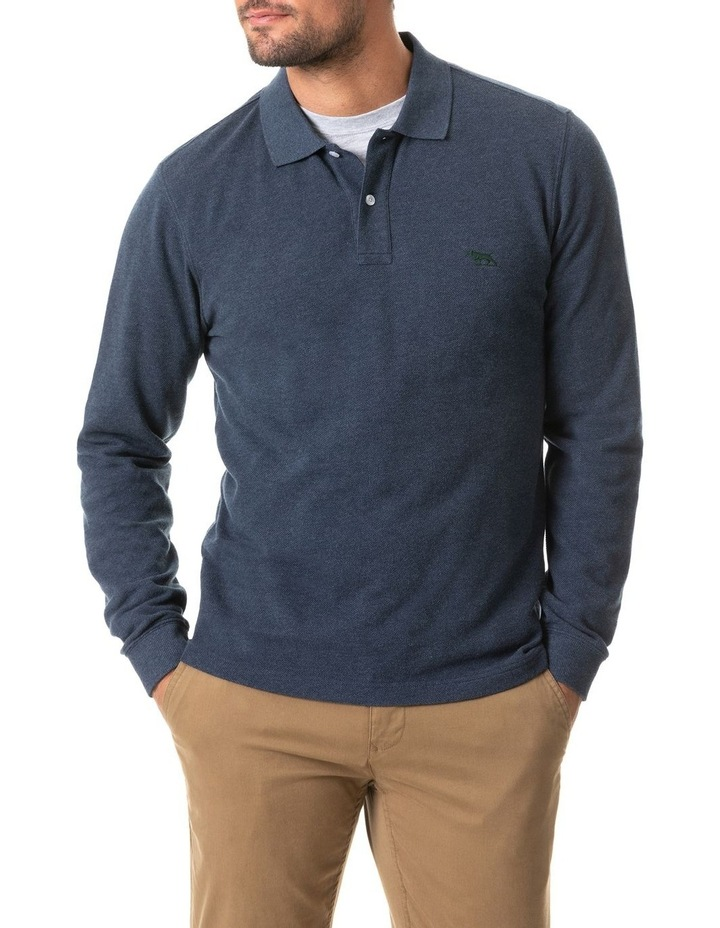 Long Sleeve Gunn Polo image 1