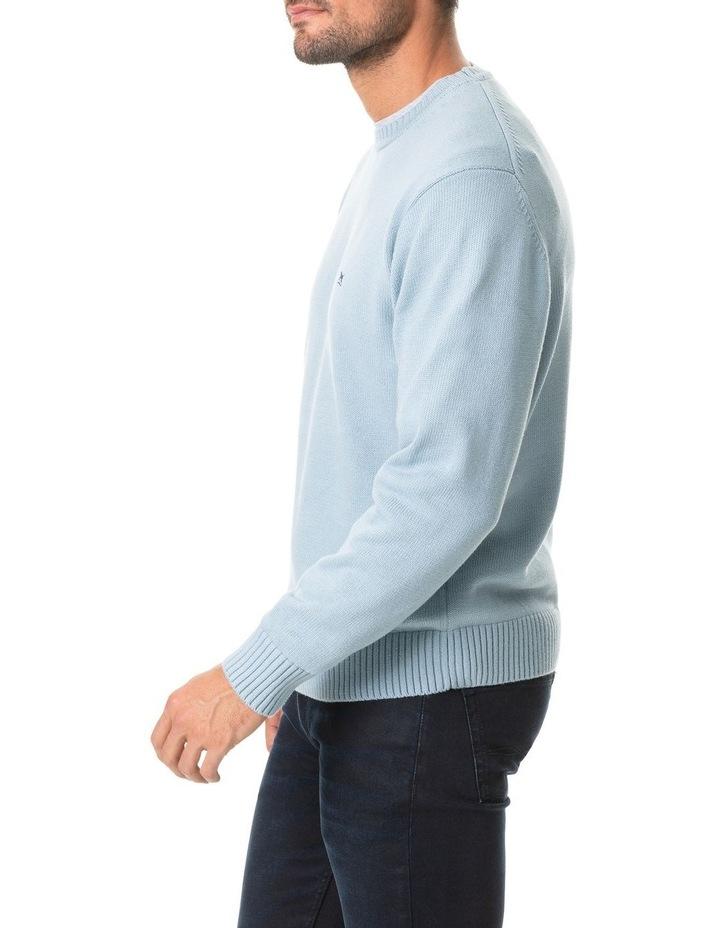 Gunn Knit - Eggshell Blue image 2