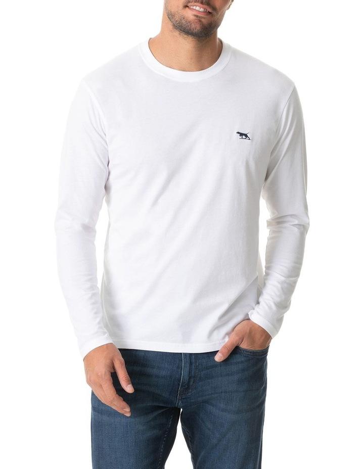 Long Sleeve Gunn T-Shirt - Snow image 1
