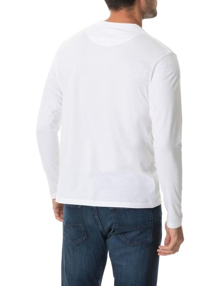 Long Sleeve Gunn T-Shirt - Snow image 3