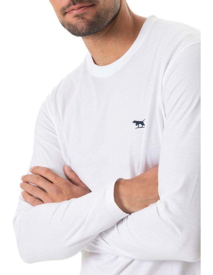 Long Sleeve Gunn T-Shirt - Snow image 4