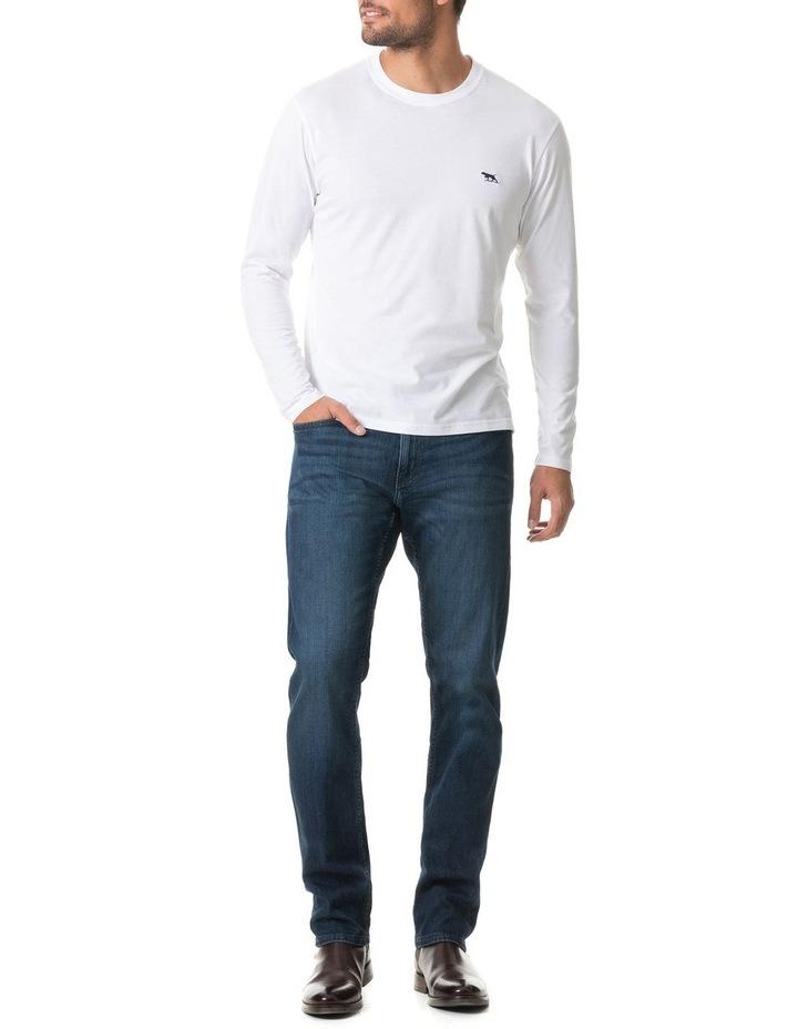 Long Sleeve Gunn T-Shirt - Snow image 5