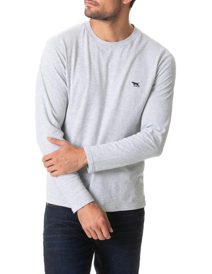 Long Sleeve Gunn T-Shirt - Pebble image 1