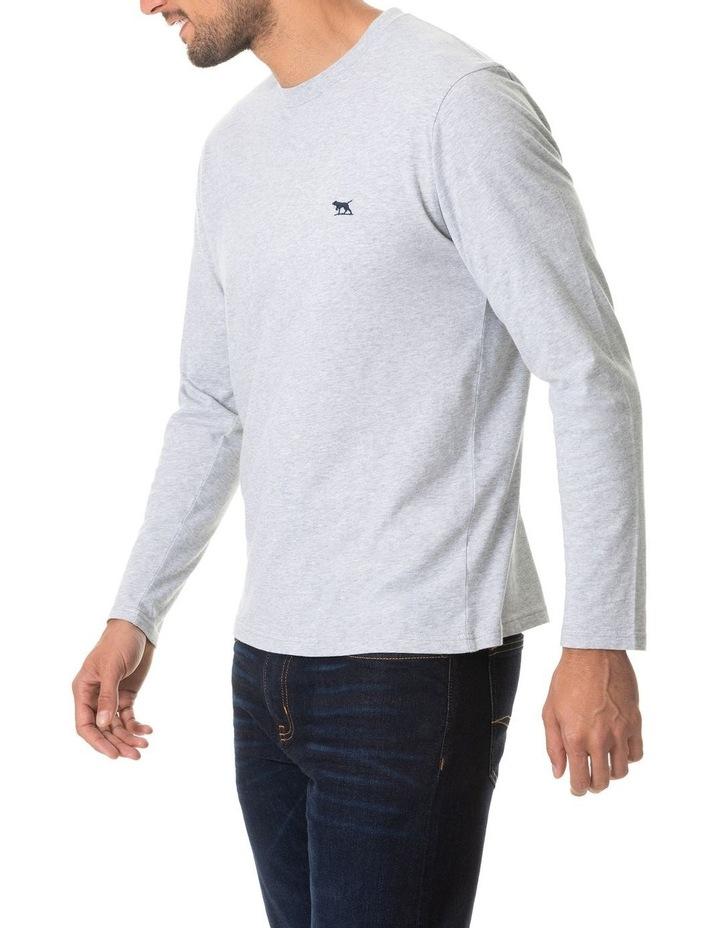 Long Sleeve Gunn T-Shirt - Pebble image 2